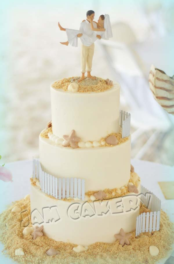 Wedding Cake Ideas For Beach Wedding