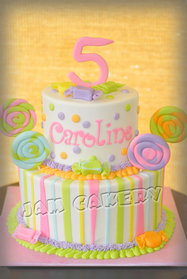 Sweets Birthday Cake Images : Candy Birthday Cake - J.A.M. Cakery