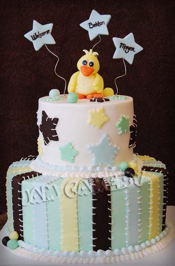 Ducky Baby Shower Cake. Shower Cake