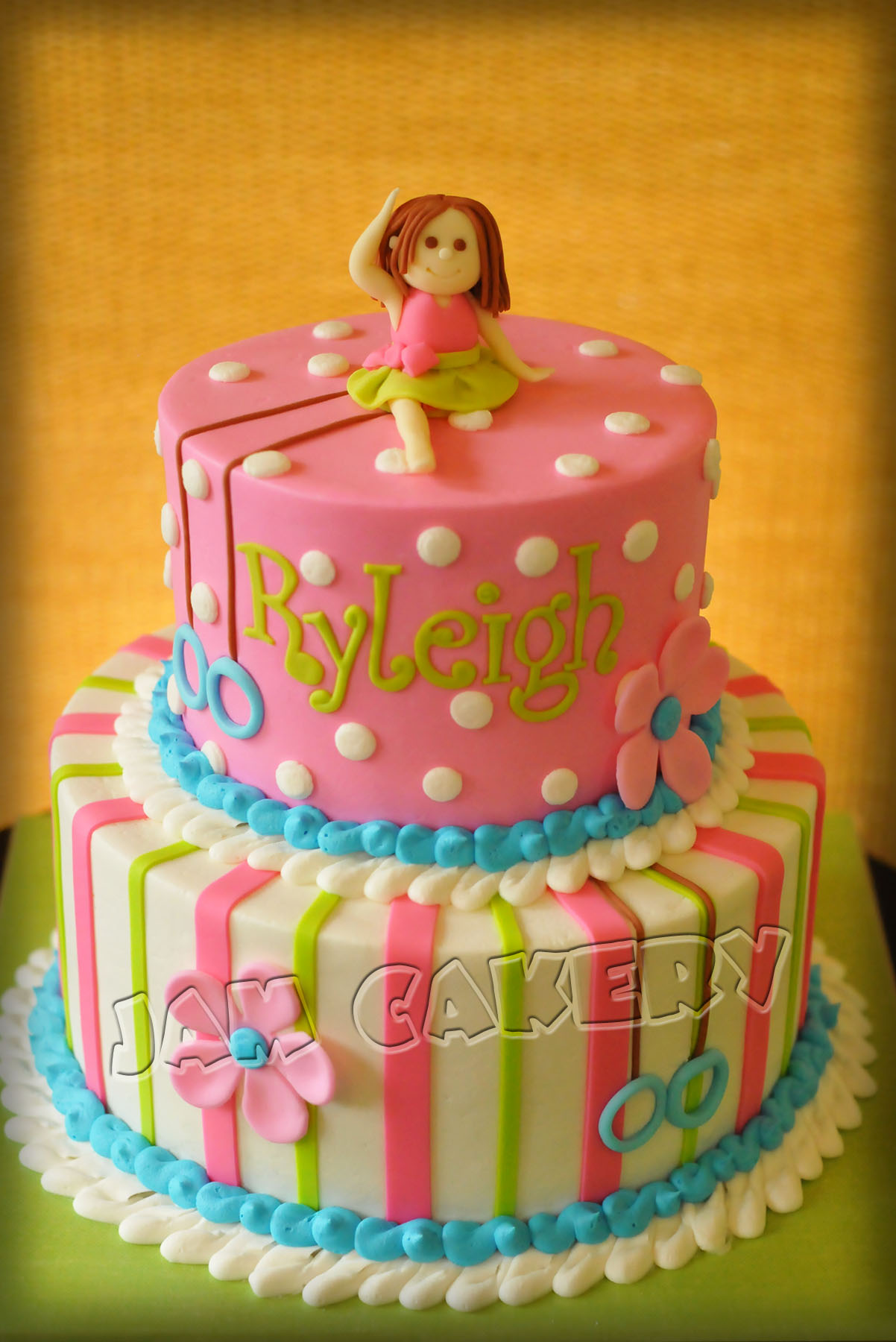 Excellent Gymnast Birthday Cake J A M Cakery Personalised Birthday Cards Paralily Jamesorg