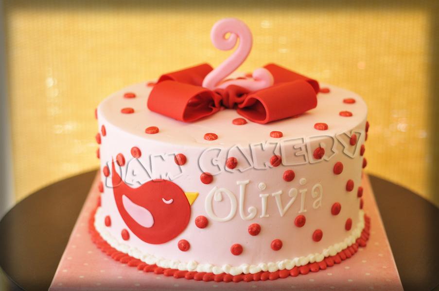 Twins birthday cake - J.A.M. Cakery
