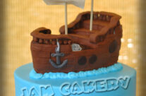 Ship Birthday Cake