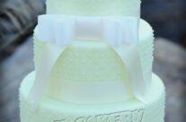 Fondant Covered Wedding Cake