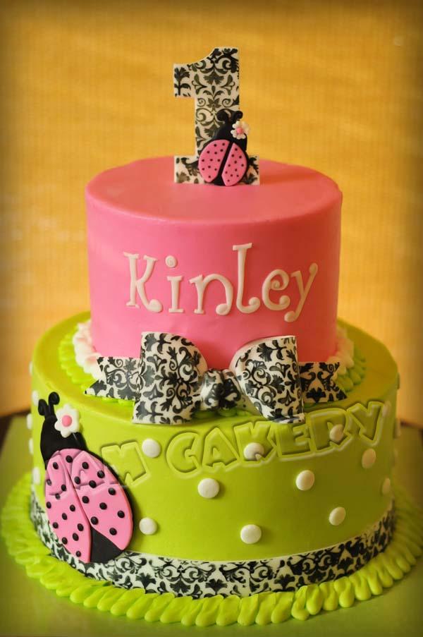 Astonishing Mod Ladybug Birthday Cake J A M Cakery Funny Birthday Cards Online Elaedamsfinfo