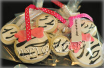 Cookie favors for Minnie party