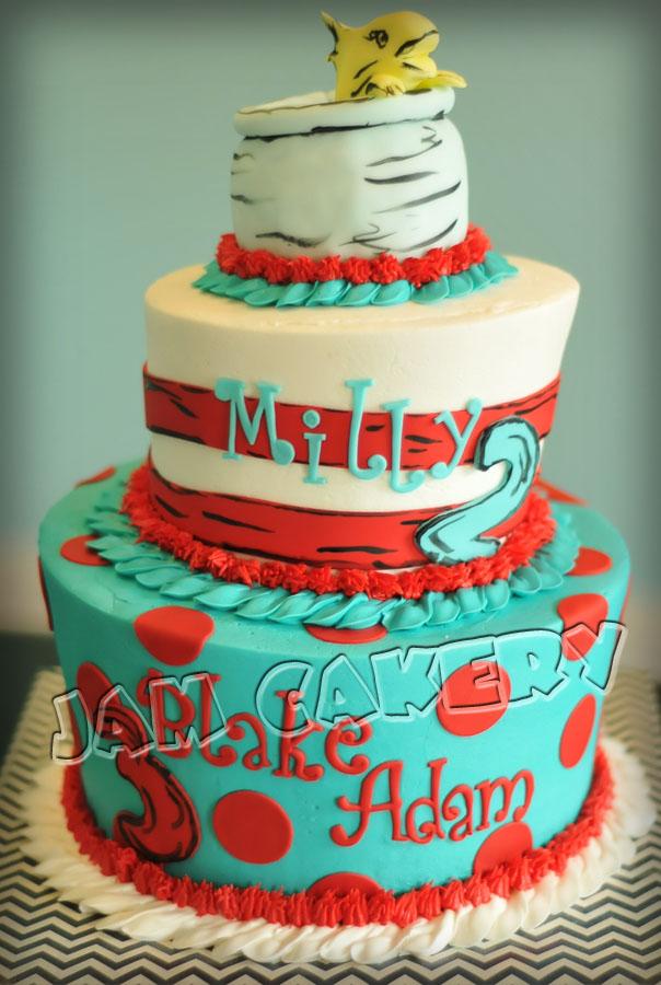 Dr Seuss Cake Jam Cakery
