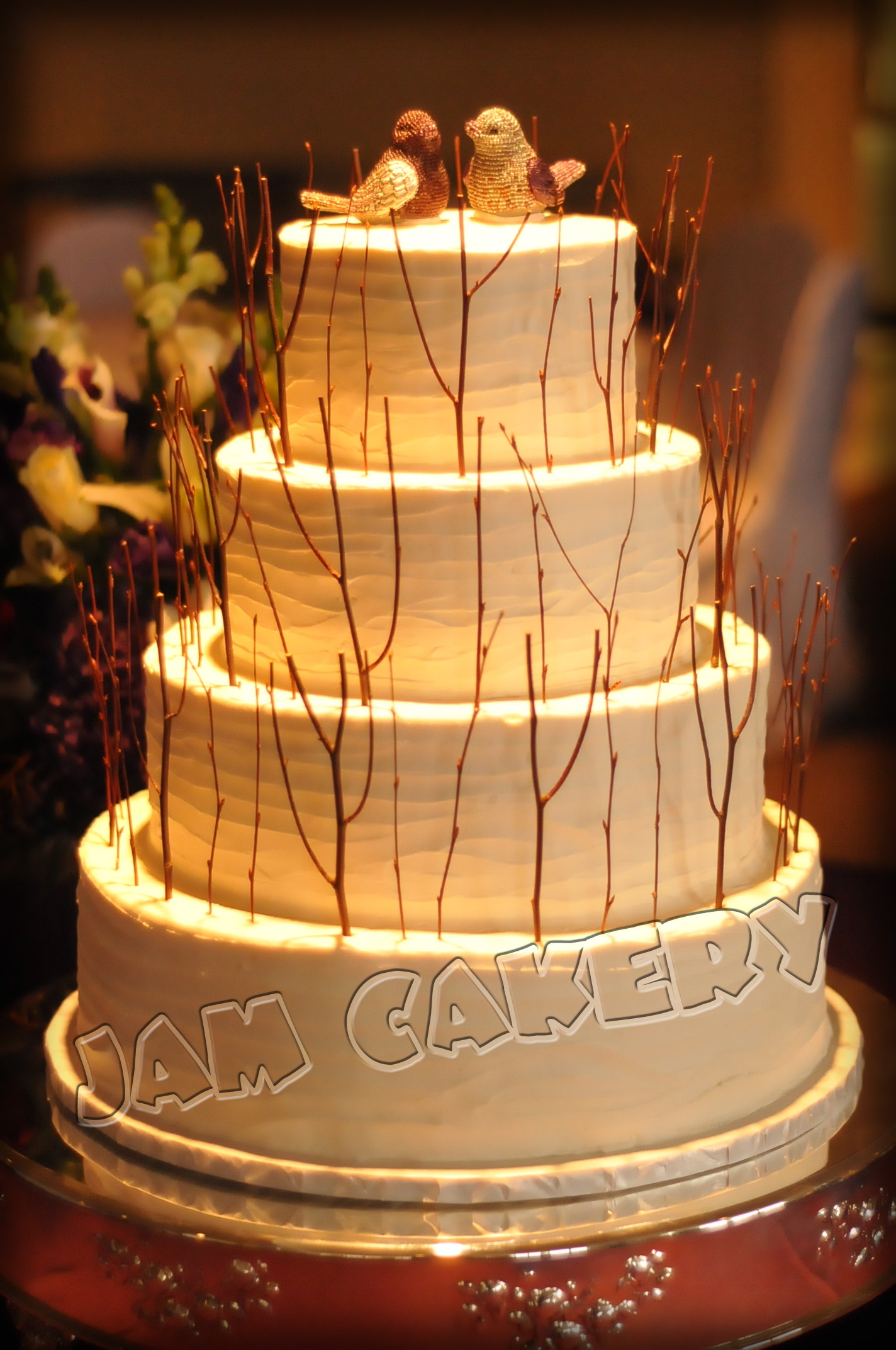 Rustic and Romantic J A M Cakery