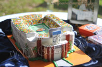 Auburn Football Stadium Groom's Cake