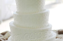 Wedding Topsy Cake