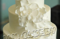 Diagonal Petals Cake