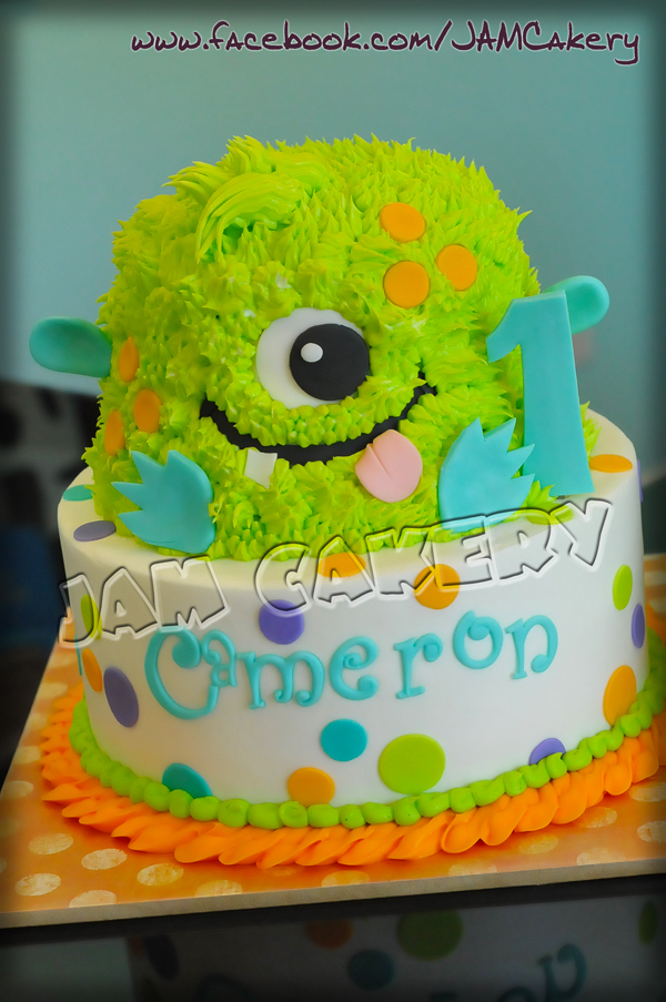 For the Lil Monster - J.A.M. Cakery